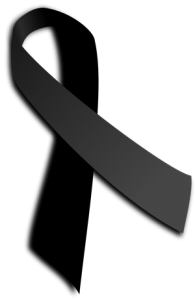 Crespón negro